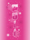 Illustration for new year 2011 — Stock Vector