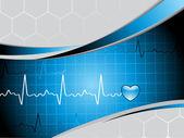 Resumen de antecedentes médico — Vector de stock
