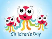 Background for children day — Stock Vector