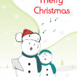 Vetorial Stock : Illustration for merry christmas
