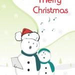 ilustração para feliz Natal — Vetorial Stock