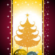 Illustration for merry christmas — Stock Vector #4447990