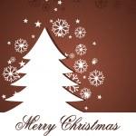 neşeli Noel için illüstrasyon — Stok Vektör
