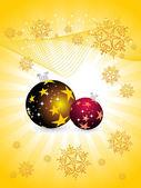 Illustration for merry christmas — Stock Vector