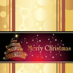 Vector illustration for merry christmas — Stock Vector #4461620