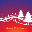 Vector illustration for merry christmas — Stock Vector #4461649