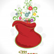 Vector illustration for merry christmas — Stock Vector #4461714