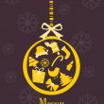 Vector illustration for merry christmas — Stock Vector #4461720
