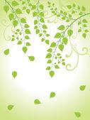 Beautiful nature background illustration — Stock Vector