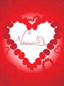 Vecteur pour la saint-valentin — Vecteur