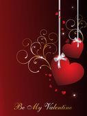 Ilustración para el día de san valentín — Vector de stock