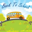 Vector illustration for back to school — Stock Vector