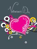 Illustratie voor dag van de valentijnskaart — Stockvector