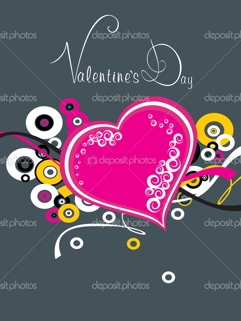Creative artwork illustartion for valentine day — Stockvectorbeeld #4792173