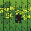 Background for happy st patricks day — Stock Vector