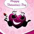 Royalty-Free Stock Vectorielle: Illustration for valentine day