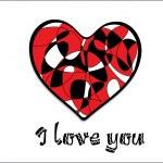 Vector illustration for valentine day — Stock Vector #4854535