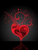 Illustrazione vettoriale per San Valentino — Vettoriale Stock