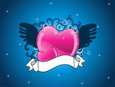 Abstract love background — Wektor stockowy