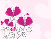 Illustration für valentinstag — Stockvektor