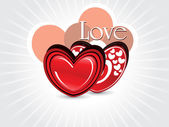 Vector for valentine day — Stock Vector