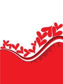 Vector romantic love concept illustration — Stock Vector