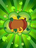 Vector illustration for patrick day celebration — Stock Vector
