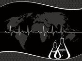 Vektor medicinska begrepp bakgrund — Stockvektor
