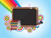 Fundo de educação vector — Vetor de Stock