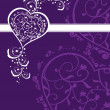 Creative background with decorated heart — Stockvector #5027549