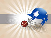 Vector illustration of cricket background — Vetorial Stock