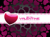 Vector wallpaper for valentine day — Stock Vector