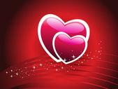 Vectorillustratie voor dag van de valentijnskaart — Stockvector