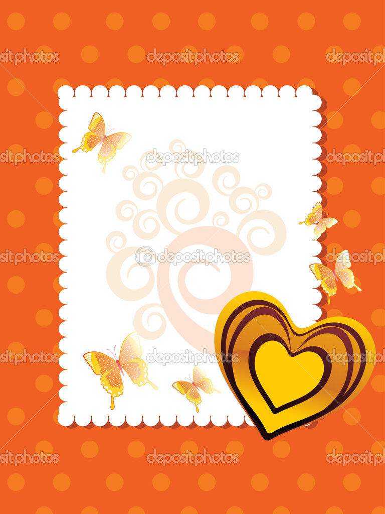 Vector illustration of beautiful greeting card for valentine day  Stock Vector #5027281