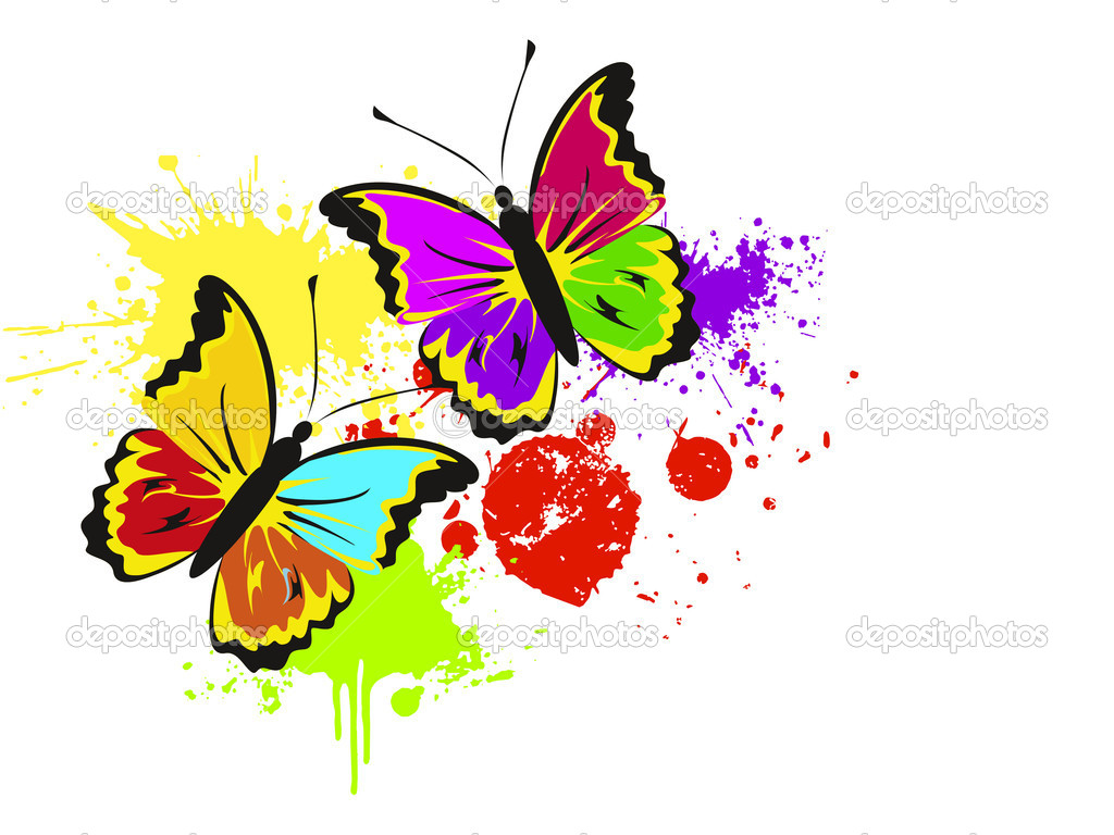 Colourful Butterflies Wallpapers For Mobile Kids