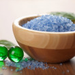 Royalty-Free Stock Photo: Herbal salt and bath balls