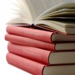 Pile of books isolated — Stock Photo #3565168