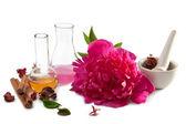 Aromatherapy isolated — Stock Photo