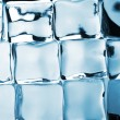 Ice cubes background — Stockfoto