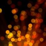 abstrato base de luzes vermelhas e amarelas — Foto Stock