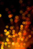 Abstract red and yellow lights background — Stockfoto
