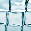 Ice cubes background — Stock Photo
