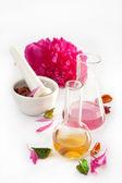 Aromatherapy set isolated — Stock Photo