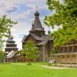 Wooden orthodox church — Stock Photo #3688926