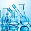 Chemical laboratory equipment — Stock Photo