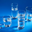 Stock Photo: Glasses of water