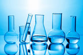 Chemical laboratory equipment — Stockfoto