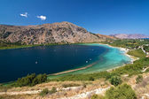 Lake on Crete — Stock Photo