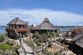 Vacker park på crystal cave ö — Stockfoto