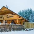 Stock Photo: Cozy little wooden house